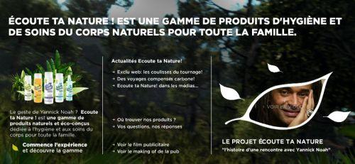 Soins cosmétiques biologiques Ecoute Ta Nature