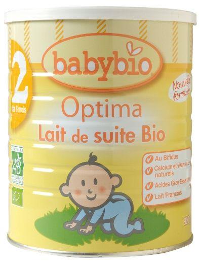 Lait Baby bio Optima