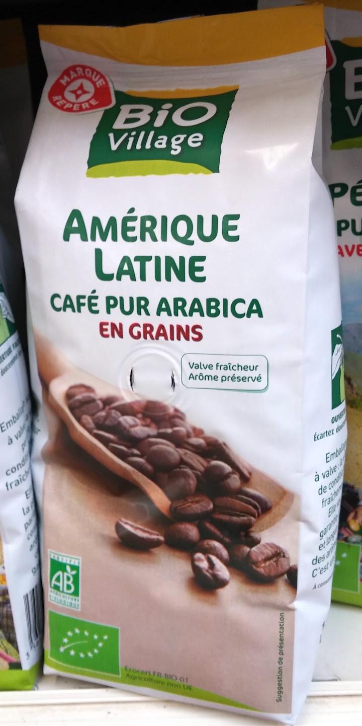 Café bio d'Amérique latine, par Bio Village